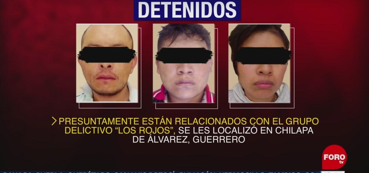 FOTO: Fiscalía Guerrero detiene cinco peligrosos criminales Los Rojos