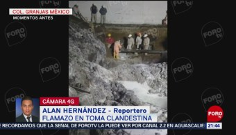 Foto: Flamazo Toma Clandestina Iztacalco Deja Varios Lesionados 23 agosto 2019