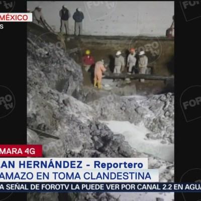 Flamazo en toma clandestina en Iztacalco deja varios lesionados