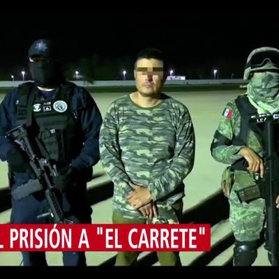 Formal prisión a 'El Carrete', presunto líder de 'Los Rojos'