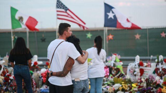 Foto: Familiares y amigos despiden a las víctimas del tiroteo en el Paso, Texas. Getty Images/Archivo