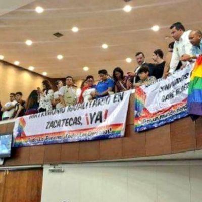 Congreso de Zacatecas rechaza matrimonio igualitario
