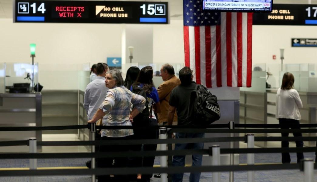 Foto: Falla el sistema CBP en aeropuertos de Estados Unidos. Getty Images/Archivo