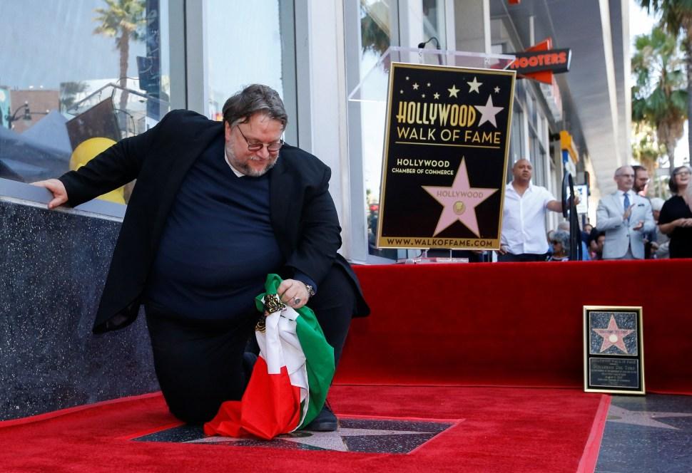 Guillermo del Toro se mostró agradecido con los asistentes al evento. Reuters