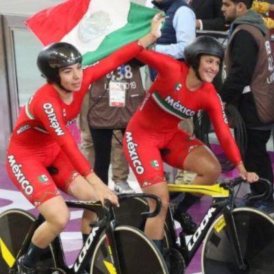 Mexicanas ganan oro en prueba de velocidad y rompen récord en Lima