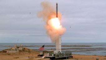 Foto: La Armada de Estados Unidos lanzó un misil de corto alcance. AP