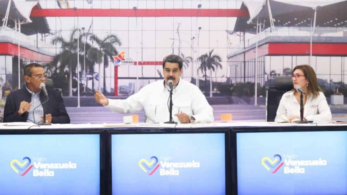 Foto: Nicolás Maduro, presidente de Venezuela, inaugura la Terminal de Pasajeros La Guaira-Naiguatá-Caruao. Twitter/@PresidencialVen
