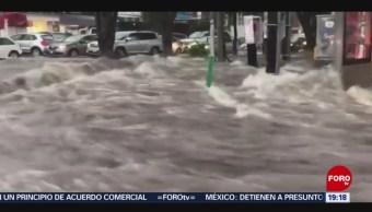 Foto: Fuerte Lluvia Inundaciones Guadalajara Jalisco 26 Agosto 2019