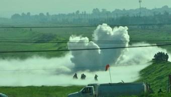 Foto: Fuga de gas en Nextlalpan, 2 de agosto de 2019, Estado de México