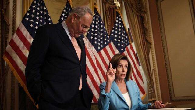 Foto: Los demócratas también apoyaron el presupuesto, 1 de agosto de 2019 (Getty Images)