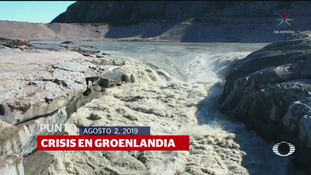 Foto: Video Groenlandia Se Derrite Viddeo Deshielo 2 Agosto 2019