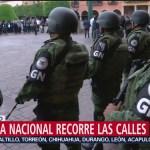 Foto: Guardia Nacional Guanajuato 1 Agosto 2019