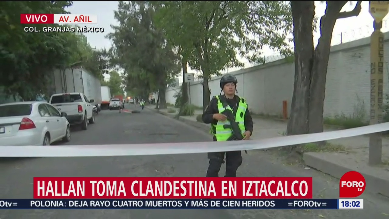 Foto: Guardia Nacional Resguarda Predio Toma Clandestina 22 Agosto 2019