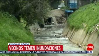 Foto: Habitantes Valle Dorado Temen Inundaciones Lluvias 19 Agosto 2019