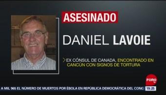 FOTO: Hallan muerto a excónsul de Canadá en Cancún, 25 Agosto 2019