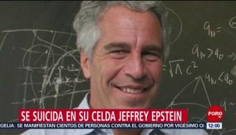 FOTO: Hallan muerto en su celda al millonario Jeffrey Epstein, 10 Agosto 2019