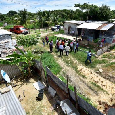 Buscaban agua y encontraron petróleo en una vivienda en Tabasco