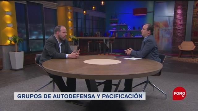 Foto: Hay Diálogos Entre Gobierno Grupos Autodefensa