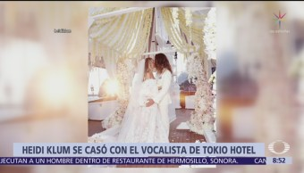 Heidi Klum se casa con Tom Kaulitz en Capri
