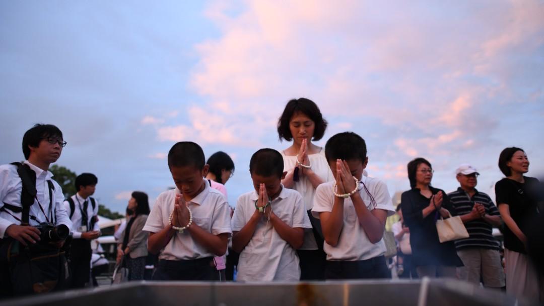 Foto: Conmemoran aniversario de Hiroshima, 6 de agosto de 2019, Japón