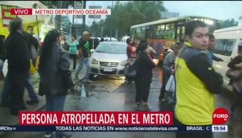 Foto: Hombre Se Suicida Metro Villa Aragón