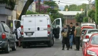 FOTO Homicidio repunta en CDMX, en primer semestre de 2019; en la imagen, crimen en la Gustavo A. Madero (Noticieros Televisa)