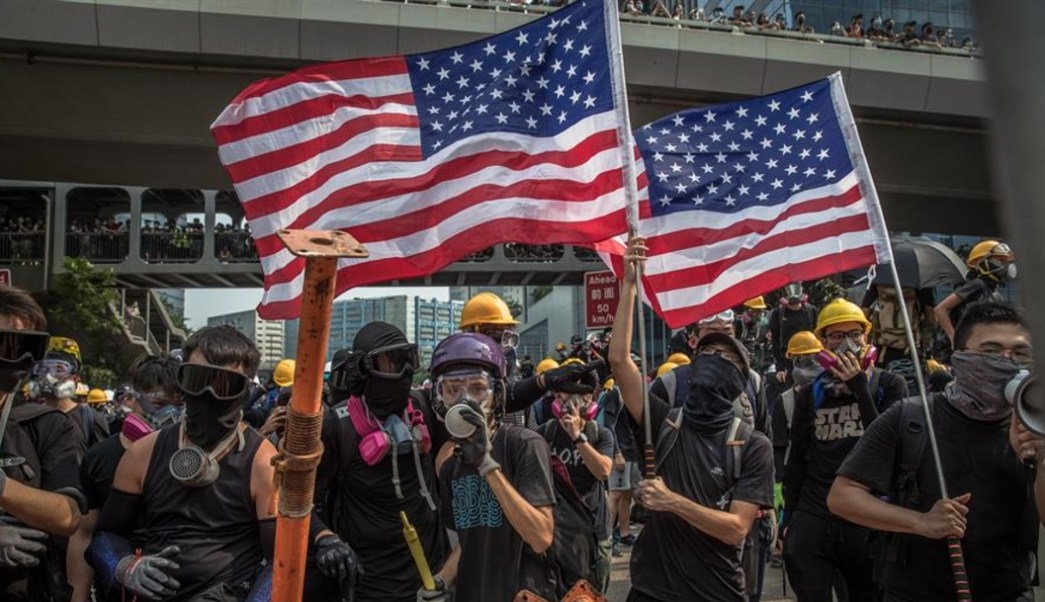 Foto: Hong Kong vive este sábado su duodécimo fin de semana consecutivo de protestas antigubernamentales, 24 de agosto de 2019 (EFE)