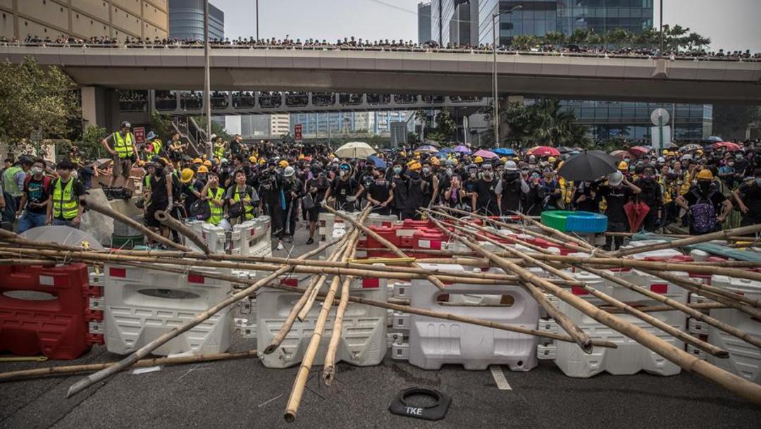 """Foto: Bajo el modelo """"Un país, dos sistemas"""", el Gobierno chino se comprometió tras recuperar Hong Kong a salvaguardar su autonomía, 24 de agosto de 2019 (EFE)"""
