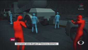 Foto: Huachigaseros Ladrones Gas Lp Atacan Texcoco 16 Agosto 2019