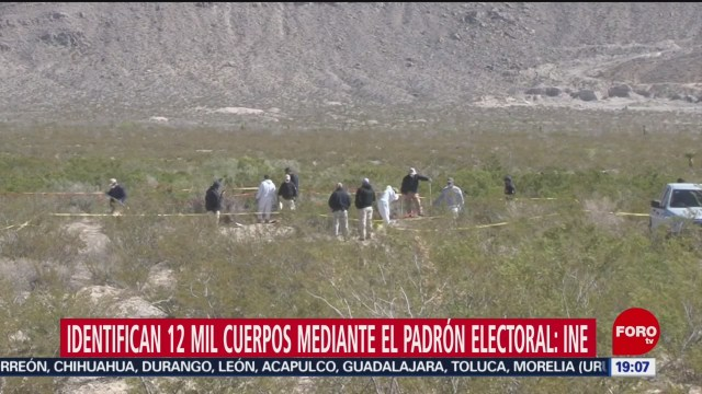 Foto: Identifican Cuerpos Cadáveres Padrón Electoral 26 Agosto 2019