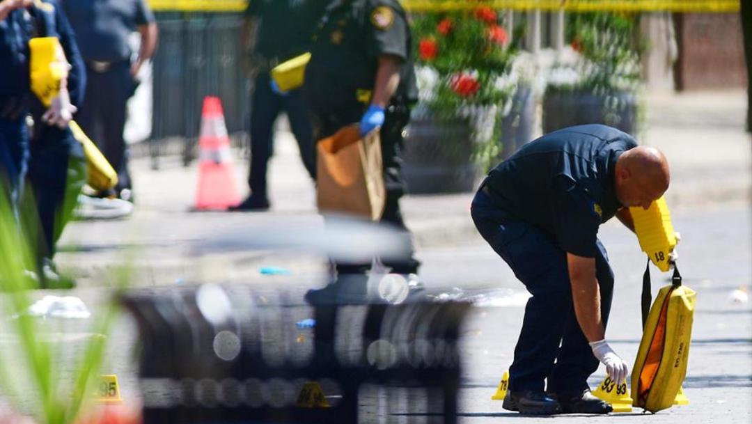 Foto: Este nuevo tiroteo se produce sólo horas después de otro en un centro comercial de El Paso (Texas), 4 de agosto de 2019 (EFE)