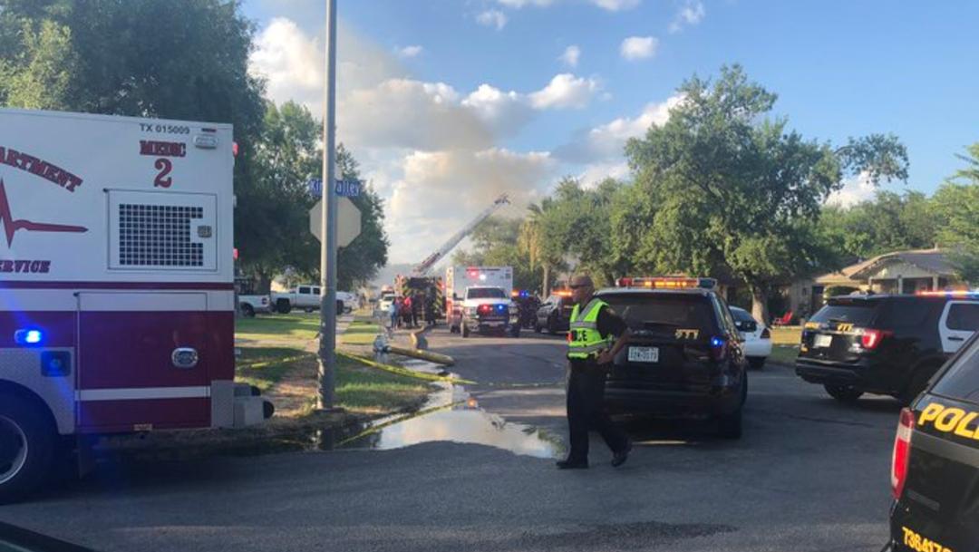 incendio en casa de texas (1)