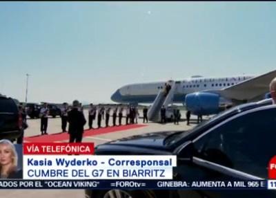 Inicia Cumbre del G7 en Biarritz, Francia