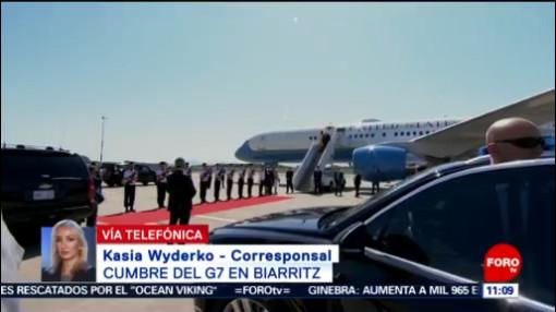 FOTO: Inicia Cumbre del G7 en Biarritz, Francia, 24 Agosto 2019