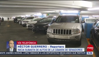 FOTO: Inicia subasta autos Cámara Senadores
