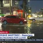 Foto: Intensa Lluvia Encharcamientos Santa Cruz Meyehualco 12 Agosto 2019