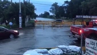 Río Hondo deja afectaciones en Naucalpan y Azcapotzalco tras fuertes lluvias