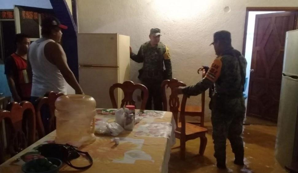 Ejército aplica Plan DN-III-E en Matías Romero, Oaxaca, por inundaciones