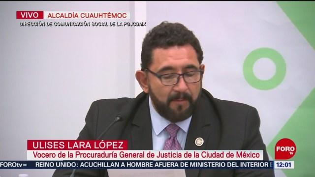 Investigación y declaración de presunta víctima de violación en Azcapotzalco no coinciden: PGJCDMX