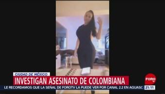 Foto: Asesinato Escort Colombiana Cdmx 21 Agosto 2019