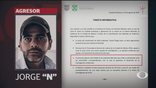 Foto: Joven Que Denunció Agresiones Vecino Ya Cuenta Con Protección