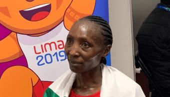 Foto: La corredora admitió que habría sido mejor tener la medalla de oro, pero para la próxima irá por el primer lugar, 6 de agosto de 2019 (Twitter @CONADE)