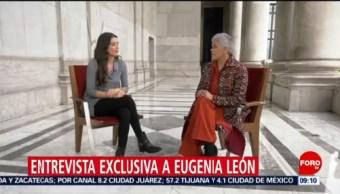 FOTO: La cantante Eugenia León haba sobre la violencia de genero, 17 Agosto 2019