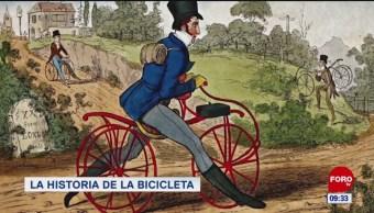La historia de la bicicleta