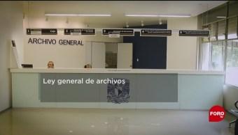 FOTO: La nueva ley general de archivos, 24 Agosto 2019