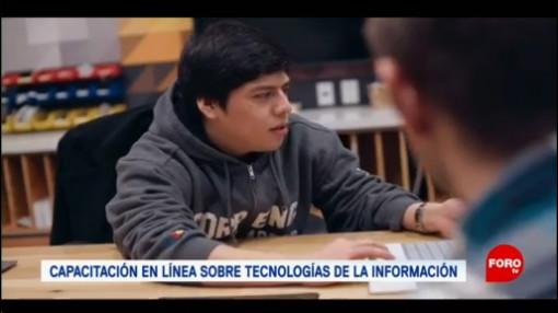 FOTO: Lanzan un programa de becas para que estudiantes mexicanos se capaciten en tecnología, 10 Agosto 2019