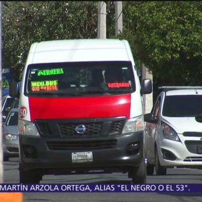 Las agresiones contra transporte público en Tecámac, Edomex