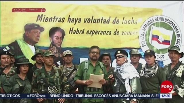 Las FARC anuncian que retoman las armas en Colombia