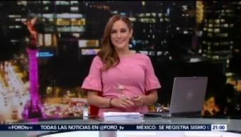 Foto: Las Noticias Danielle Dithurbide Programa Completo 13 Agosto 2019