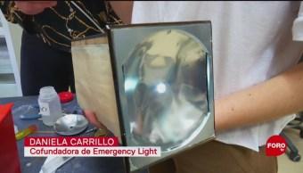 FOTO: Linterna sustentable 'Emergency Light', 18 Agosto 2019